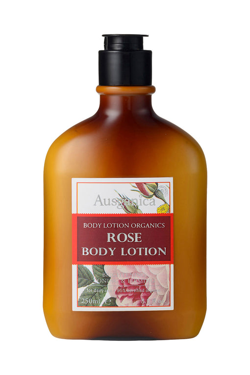 Rose Body Lotion - Organic Body Lotion