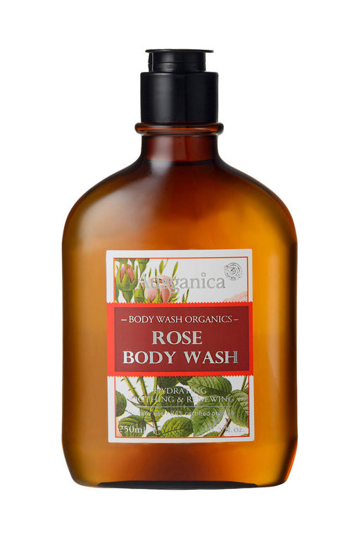 Rose Organic Body Wash. Sulfate and Chemical Free. All Natural and Safe for kids and babies.