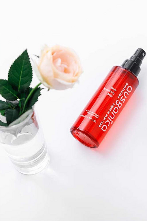 Organic Rose Hydrating Mist Spray for Face and Skin