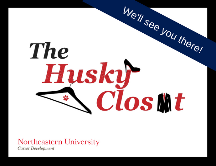 Sept. 26 - Northeastern University Husky Closet Clothing Drive