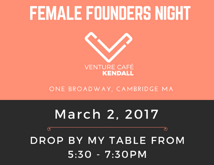 Mar. 2 - Venture Cafe: Female Founders Night