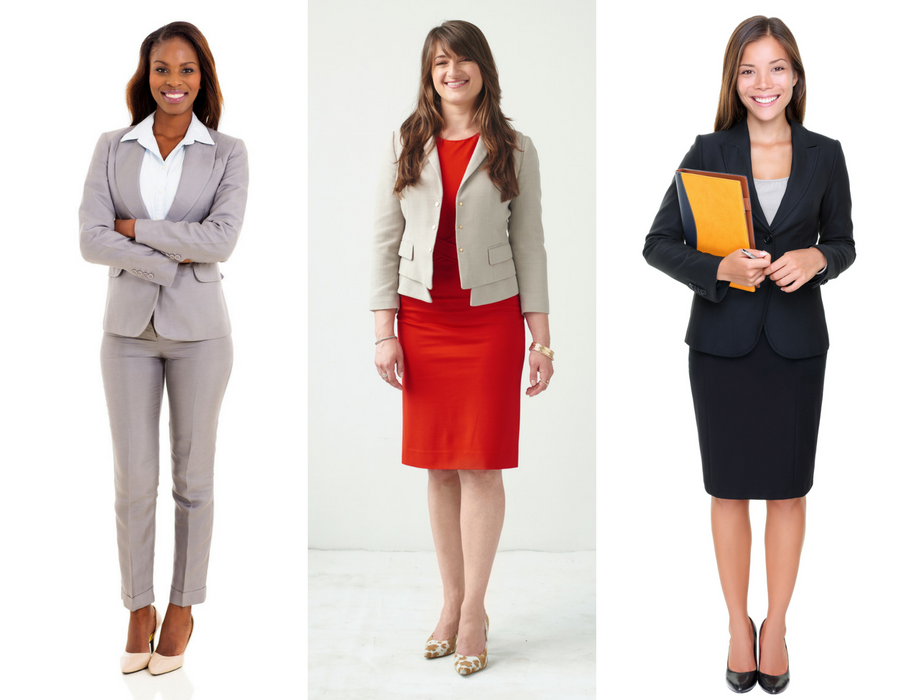 Some of out women's professional attire