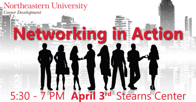 Northeastern networking event