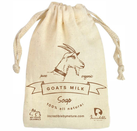 All Natural Handmade Goat Milk Soap (2 Bars) - Raw Organic Moisturizing Soap