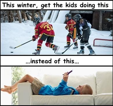 Get the Kids Outside this Winter!