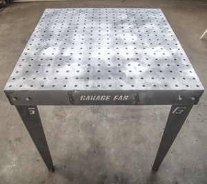 Garage Fab - 3x3 Heavy Duty Welding/Fabrication Table