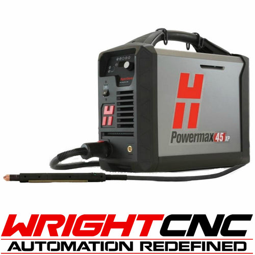 Hypertherm Powermax 45 XP Plasma Cutter with Machine Torch System & Comm. Cord