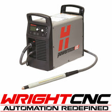 Hypertherm Powermax 65 Plasma Cutter with Machine Torch System & Comm. Cord