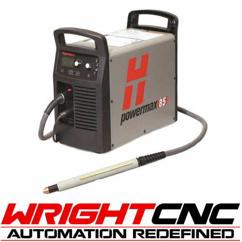 Hypertherm Powermax 85 Plasma Cutter with Machine Torch System & Comm. Cord