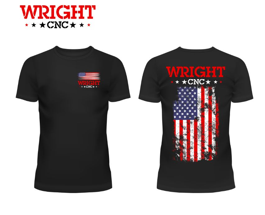 Wright CNC American Flag