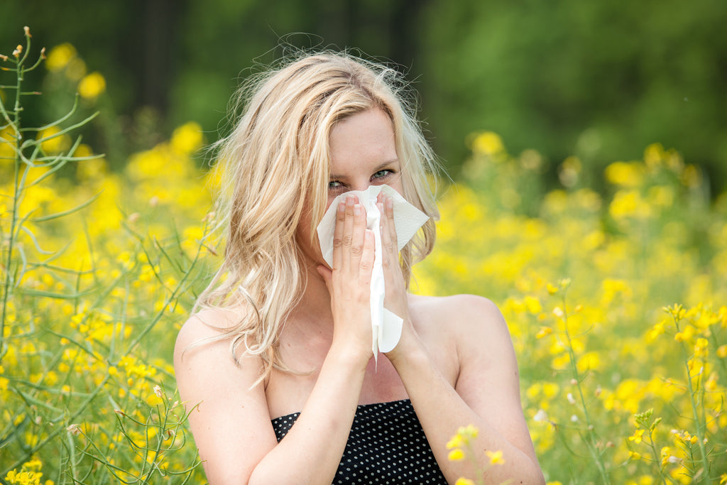 SOLVING ALLERGIES THE NATURAL WAY