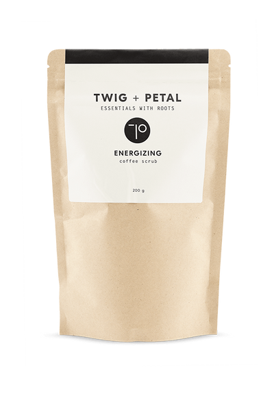 Twig+Petal 200 g Energizing Coffee Scrub