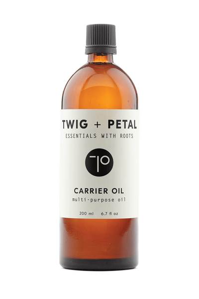 Twig+Petal 200 ml 6.7 fl oz Twig + Petal Carrier Oil