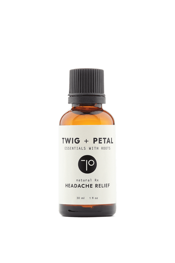 Twig+Petal 30 ml 1 fl oz Headache Relief