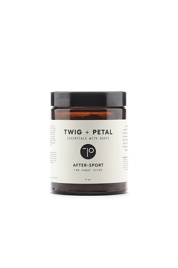 Twig+Petal 6 oz After-Sport Raw Sugar Scrub (For Him)