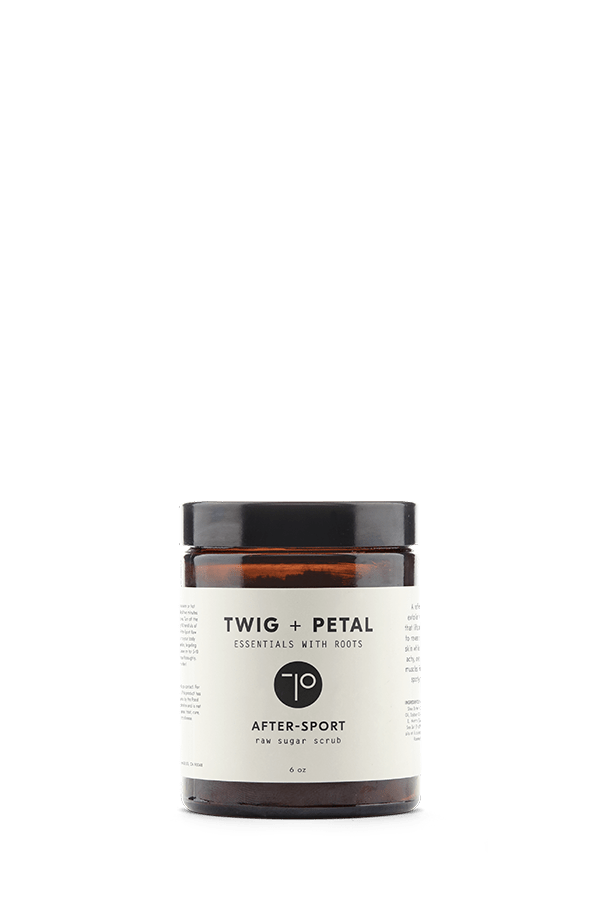Twig+Petal After-Sport Raw Sugar Scrub (For Him)