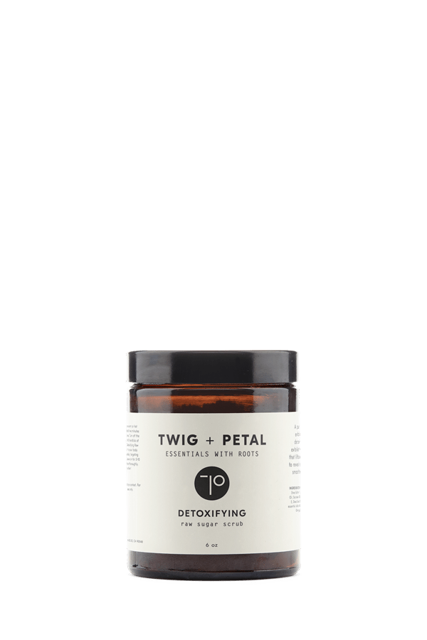 Twig+Petal Detoxifying Raw Sugar Scrub