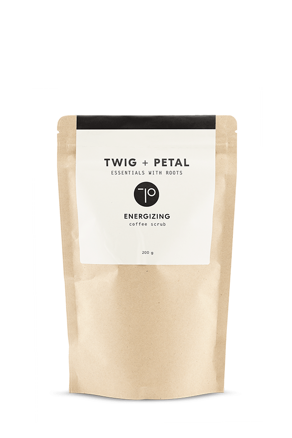 Twig+Petal Energizing Coffee Scrub