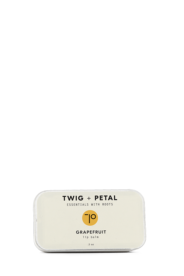 Twig+Petal Grapefruit Lip Balm