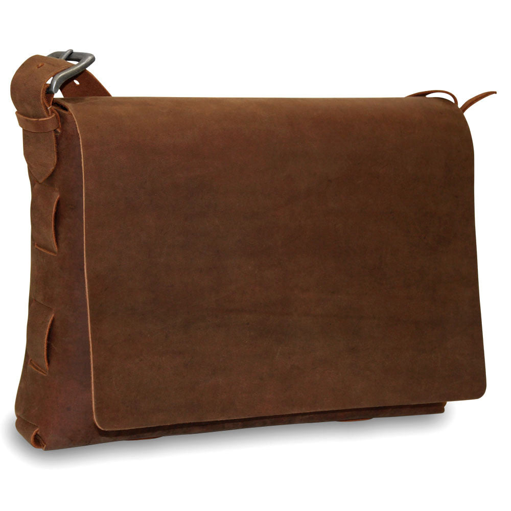 Large Messenger Bag #153A TAN