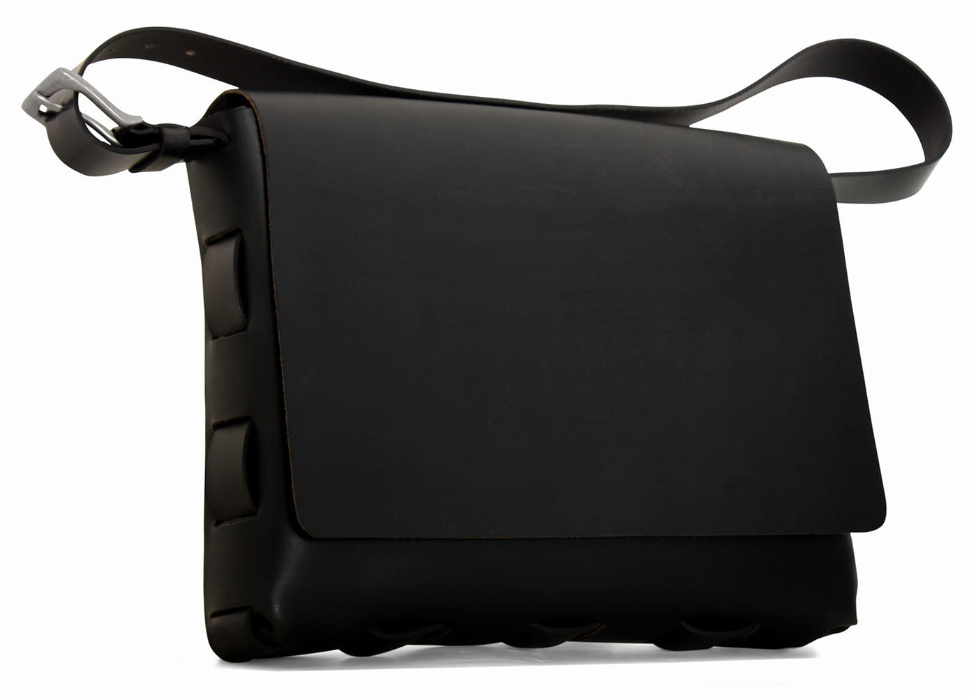 Large Messenger Bag #153A BLK