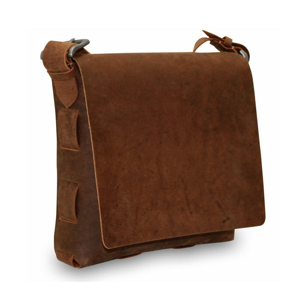 Large Messenger Bag #152A TAN
