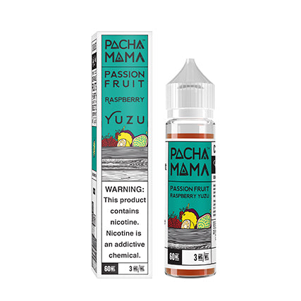 Pacha Mama - Passion Fruit Raspberry Yuzu 60ML - VAPNCO Vape Distribution