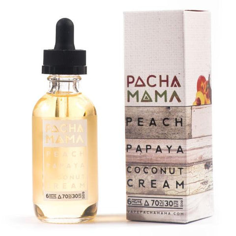 Pacha Mama - Peach Papaya Coconut Cream - VAPNCO Vape Distribution