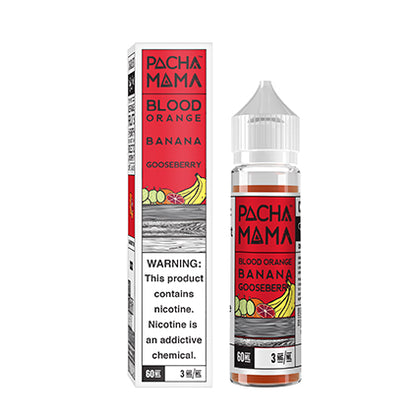 Pacha Mama - Blood Orange Banana Goosberry - VAPNCO Vape Distribution