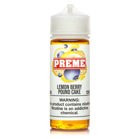PREME - Lemon Berry Pound Cake - VAPNCO Vape Distribution