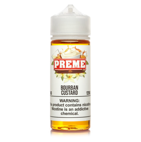PREME - Bourbon Custard - VAPNCO Vape Distribution
