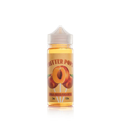 Fritter Pops - Peach Fritter Cake Pop - VAPNCO Vape Distribution