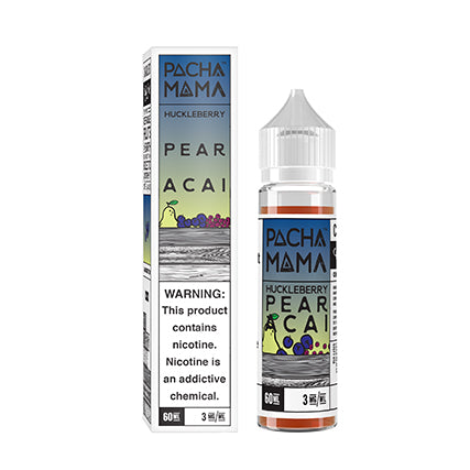 Pacha Mama - Huckleberry Pear Acai 60ML - VAPNCO Vape Distribution
