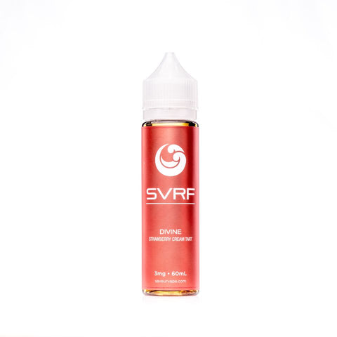 SVRF Divine - Strawberry Cream Tart - VAPNCO Vape Distribution