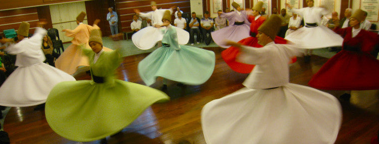 My Whirling Dervish