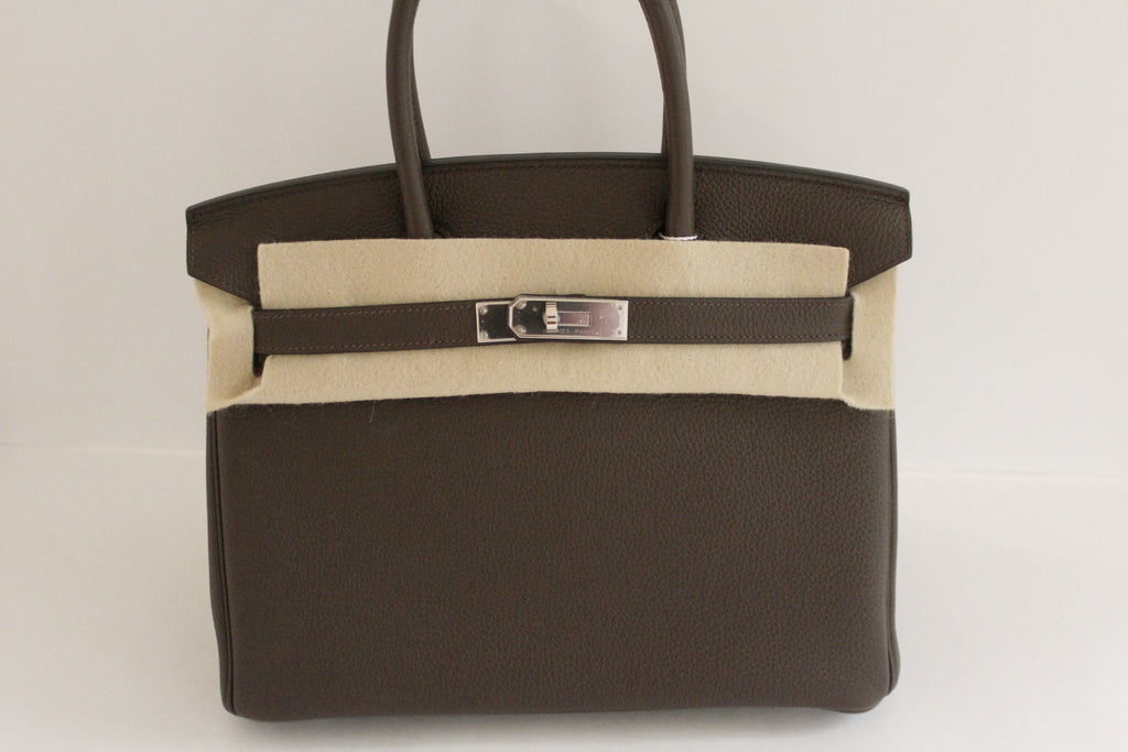 ... havana brown leather taurillon clémence 5c157 1e4c8  coupon for hermes  birkin 30 in ecorce togo leather with palladium hardware cfe8f 48b57 225f2ae65229d