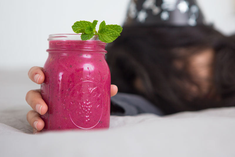 Pink Hangover Cure Smoothie