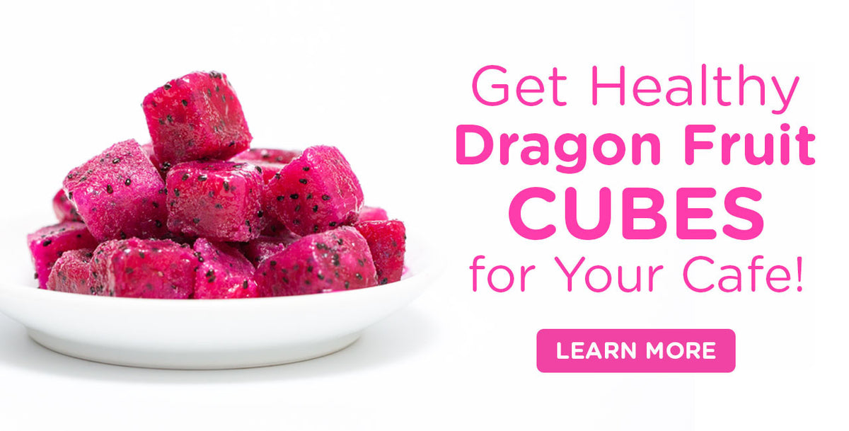 Pitaya Plus AU Dragon Fruit Cubes IQF