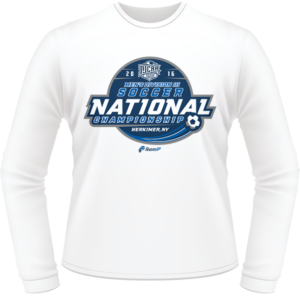 d10a27c2 2016 NJCAA Men's Soccer DIII National Championship White Long Sleeve