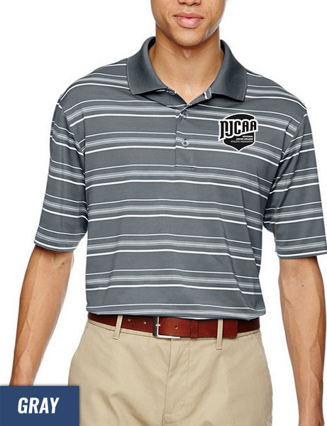 e6b33d3cc Adidas Golf Puremotion Textured Stripe Men's Sport Shirt - NJCAA Store