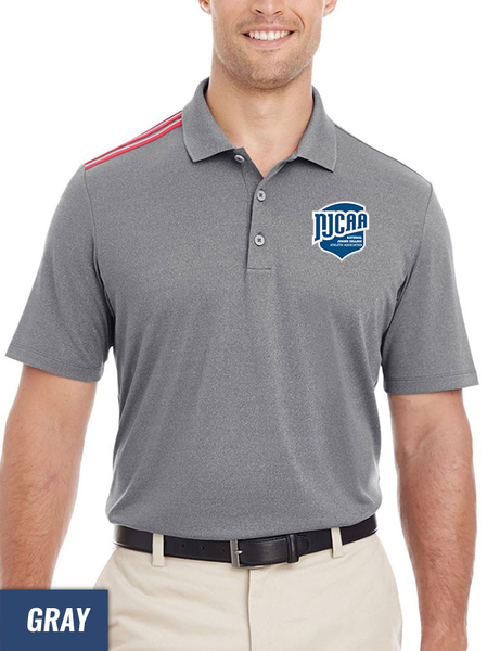 bd8be66ab Adidas Climacool Men's 3-Stripes Shoulder Polo - NJCAA Store