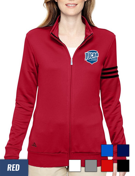 e1bead28e Adidas Golf Women's ClimaLite 3-Stripes French Terry Full-Zip Jacket +  Quick Shop