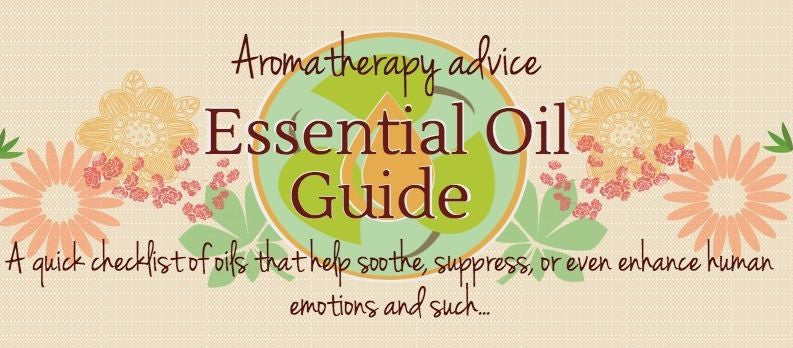 Essential Oil Guide: Infographic