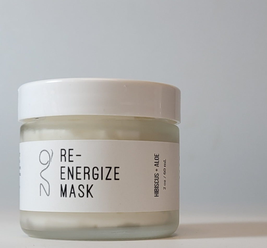 Re-Energize Mask - Hibiscus + Aloe