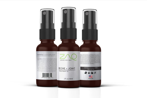 ZAQ Bone + Joint Botanic Oil Treatment Oil 2oz