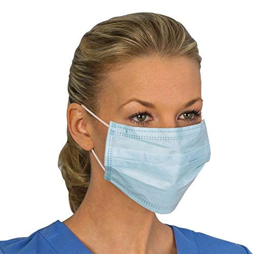 Disposable Protective Face Mask BFE > 95% - 50 PACK
