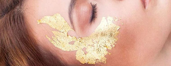 ZAQ 24K Pure Gold Leaf Facial Mask