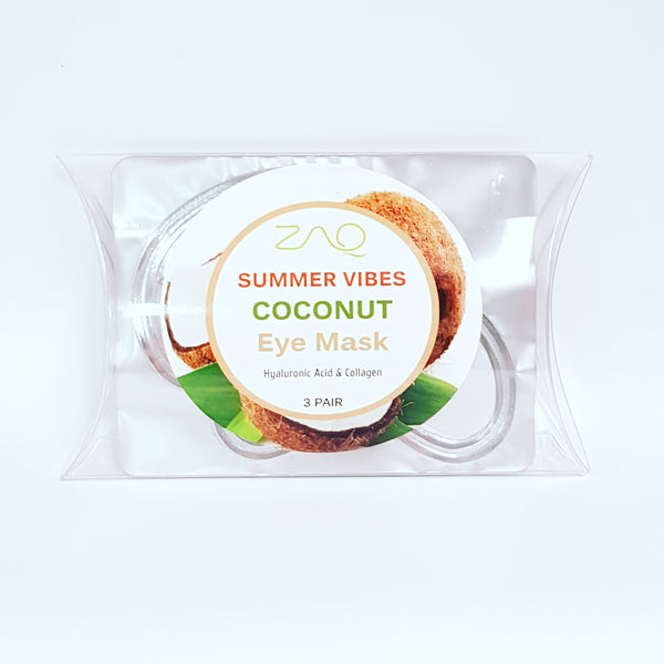 ZAQ Summer Vibes Coconut Eye Mask