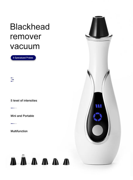 Facial Vacuum Blackhead Remover - 6 Heads