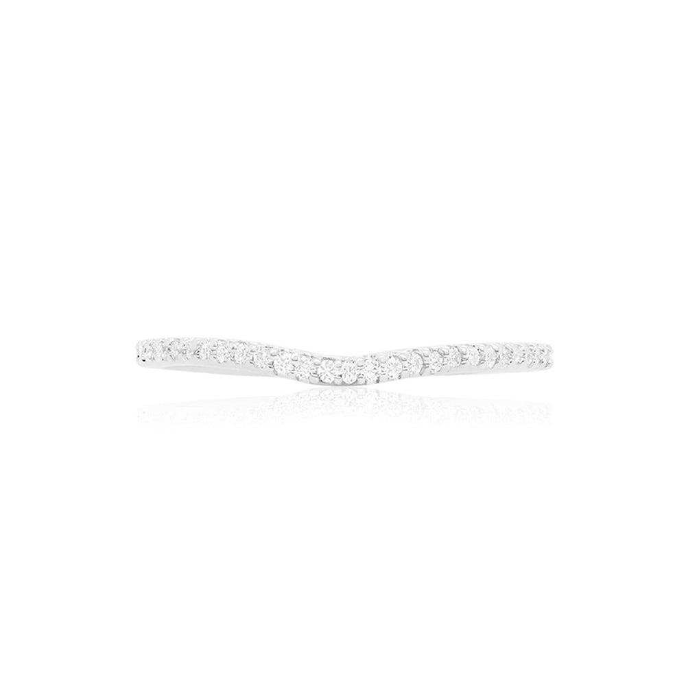 Diamond Ring Guard Band